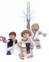 Lego Star Wars by DestructiveDelirium