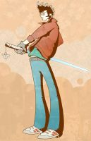 Travis Touchdown. by Crocodile-Chocolate