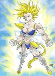 FEMALE SUPER SAIYAN 2 by dovianax
