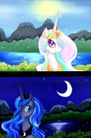 Sun and Moon by Elisabethianna