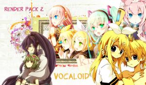 Render Pack 2 Vocaloid by Iresaa