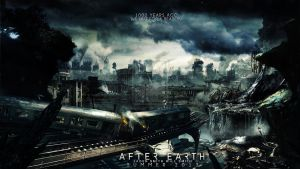 We left for a reason. (After Earth wallpaper) by sparco2