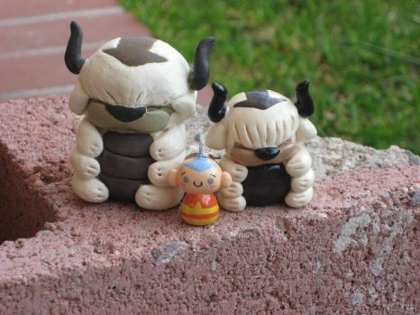 Then and Now Appa Figures by kneazlegurl125