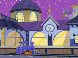 At Canterlot Station by Tonypilot
