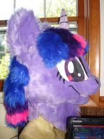 Twilight Sparkle: Head by ShaggyGriffon