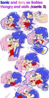 .: Sonic Babies  -Sonic and Amy 2- :. by PhoenixSAlover