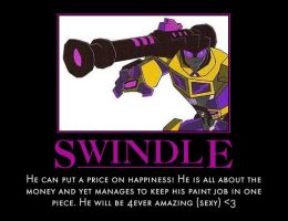 Swindle has a price for your dreams by geniesmartass