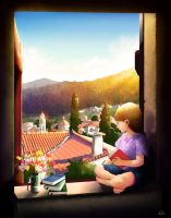 View from the Villa by wowhappyfish
