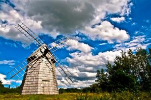 village windmill by ateist-kleranty