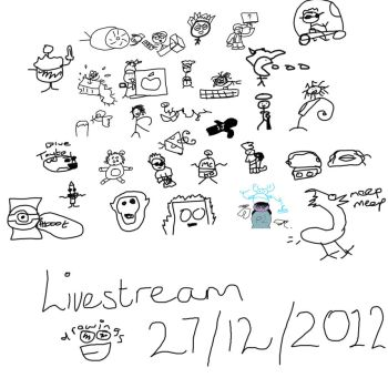 Stream Drawing 27/12/2012 by moneykid11