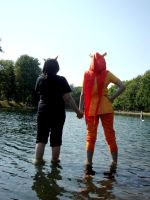 HS - Walking on Water by oilyraven