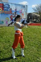 Chell cosplay by Naelia12