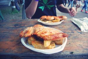 sziget lunch by BelialMadHatter