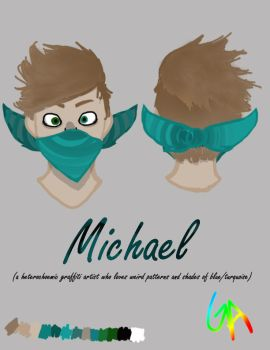 Michael (new character??) by ginger--ale