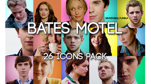 Bates motel icons pack (100 px) by armoitettu
