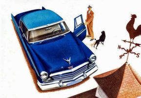 age of chrome and fins : 1956 Chrysler by Peterhoff3