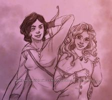 Special couplesketch - Dido/Selena by Nike-93