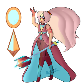 Agate ( Jasper/Pearl ) by Aaron-Goforth