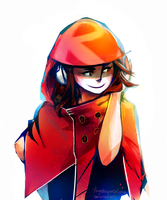 A cutie in a hood by forgottenpantaloons