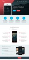 Rego HTML App Landing Page by tangz989