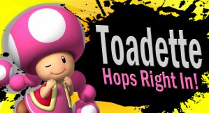 Toadette SSB4 Request by Elemental-Aura