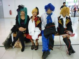 HobbyCon 2011:Team Imitation by elissamelissa96