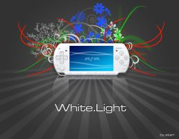 PSP white ads by atarix26