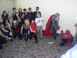Otakon 2012 - PLEASE Let Me Join the Avengers! by mugiwaraJM