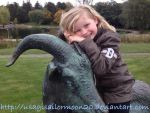 My Niece Naja On Mads Goat by usagisailormoon20