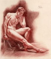 STUDY FOR MALE ACADEMY by AbdonJRomero