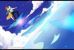 Sky Surfing by angelcake12