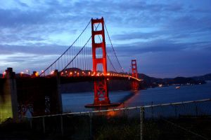 The Golden Gate Bridge by shftwings