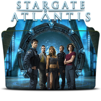 Stargate Atlantis tv folder by BuddhaJEF