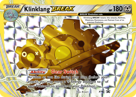 Klinklang Break Evolution