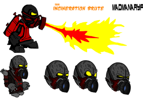 E.A.A: The Incineration Brute by Madmanaryf