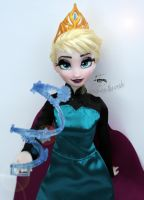 Disney Elsa Doll Repaint | Let it go! by claude-on-the-road