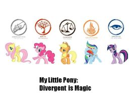 My Little Faction: Divergence is Magic by Marifan103