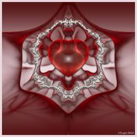 Heart Web by Brigitte-Fredensborg