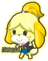 Isabelle by Yuupewpew