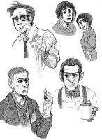 Pacific Rim Sketches by mr-book-faced
