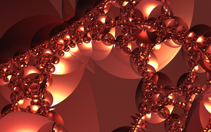 Red-Gold Arches by MickHogan