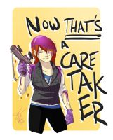 Caretaker by ComickerGirl