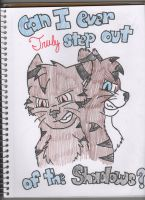 Brambleclaw's shadow by Icewhisker16