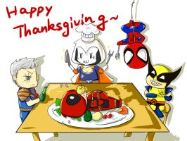 Happy Thanksgiving by SylvieZ