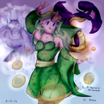 :GA: The Summoner of Mist by magedusted