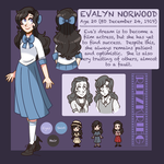 RK - Evalyn Norwood by spiffychicken