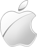 (late gift)Silver Apple logo vector(2) by WindyThePlaneh