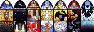 Stained Glass Windows by Quattrochi
