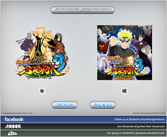 Naruto Shippuuden: UNS3 Full Burst - Icon by Crussong
