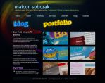 Portfolio layout by maicon-sobczak